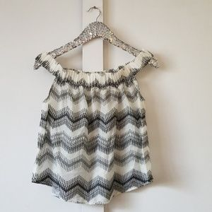 Lou & Grey | off shoulder blouse size small